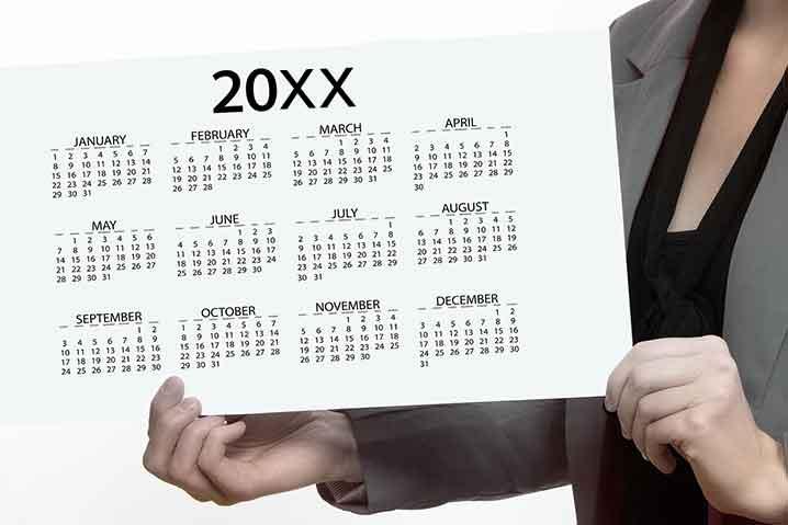 年間休日107日のイメージ
